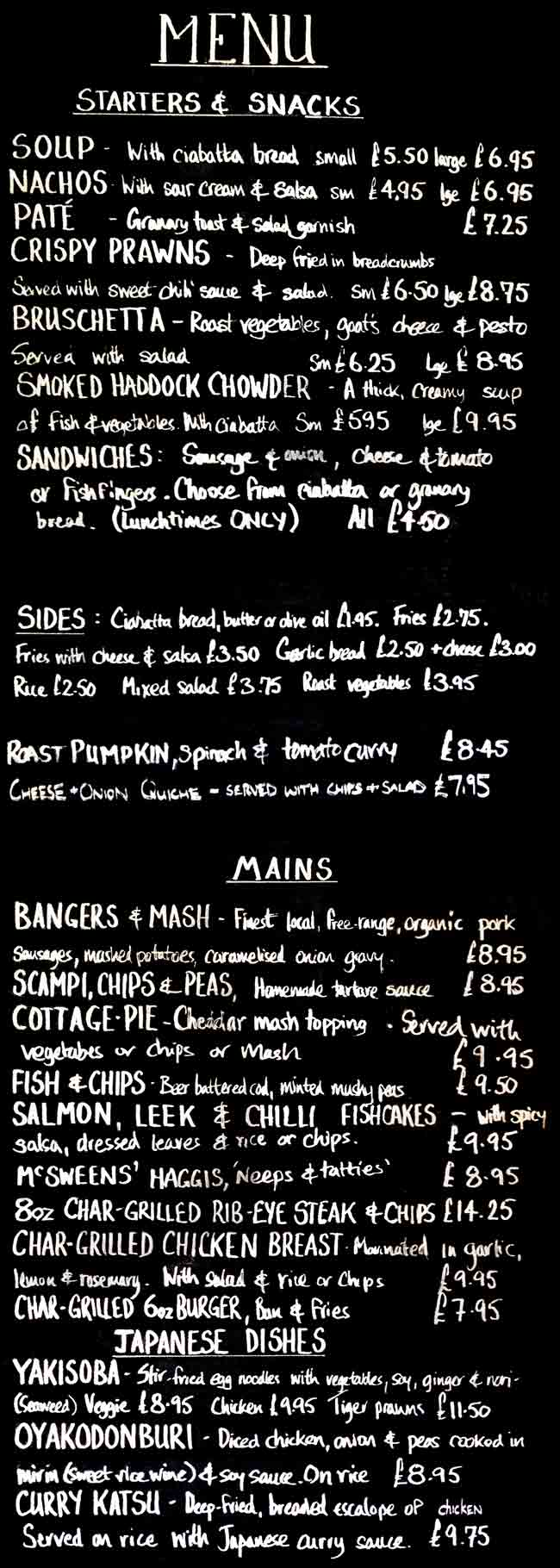 watermans-menu-board