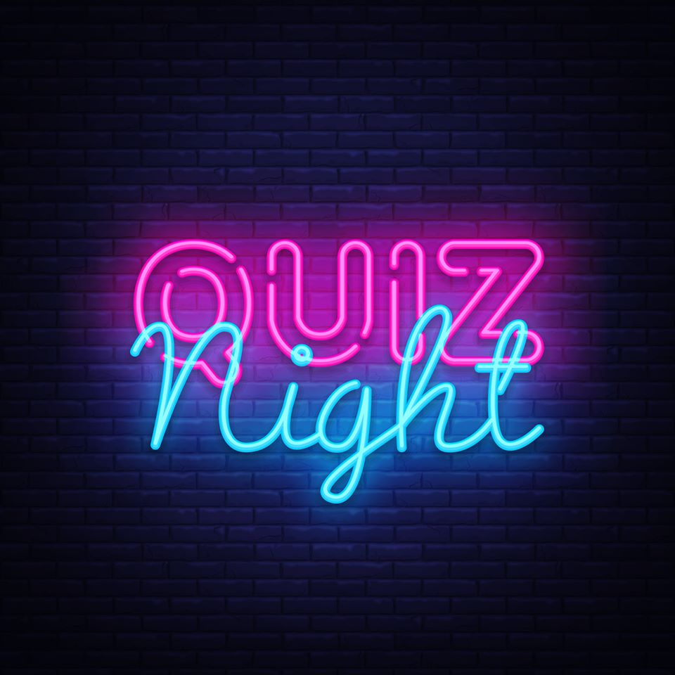 Quiz night Thursday 8th October 2020