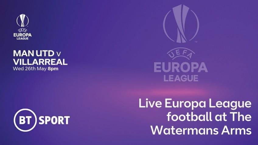 Manchester United v  Villarreal – Wed 26th May 8pm