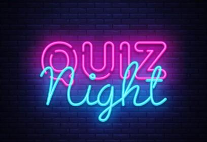 Quiz night Thursday 8th October 2020
